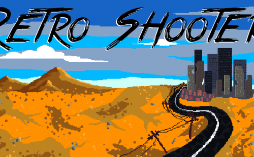 retro shooter