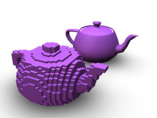 teapot-voxel